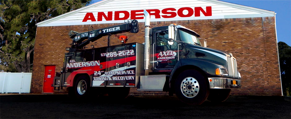 Mobile Repair and Recovery Truck